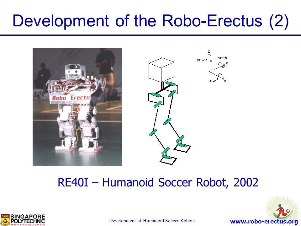 Development of the Robo-Erectus (2)