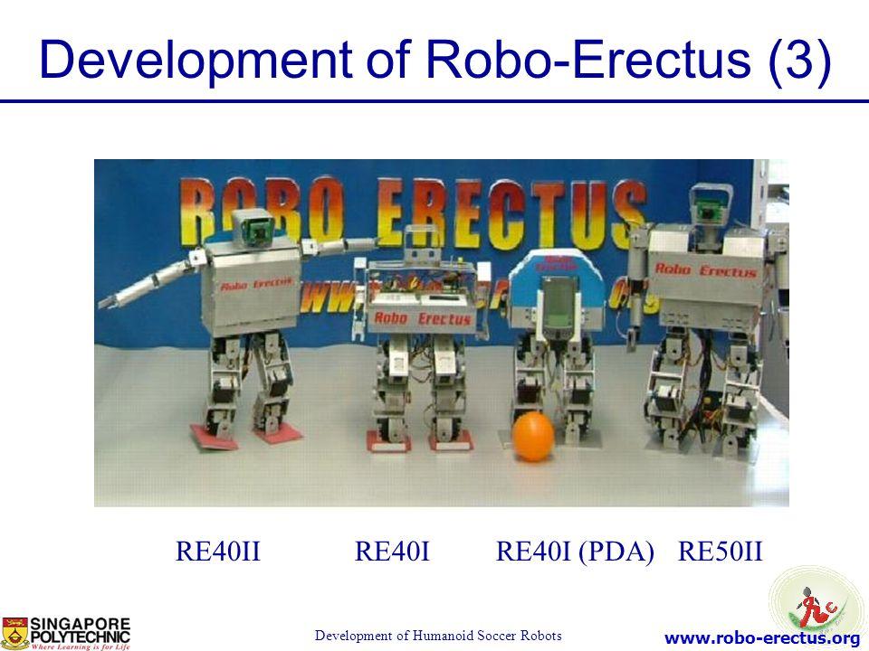 Development of Robo-Erectus (3)