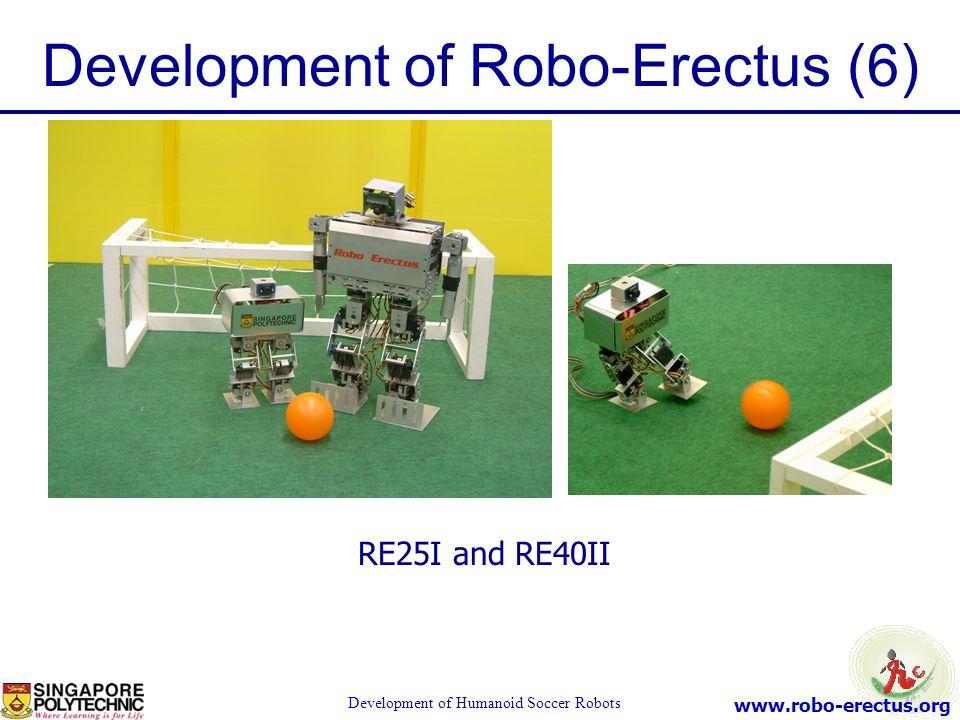 Development of Robo-Erectus (6)