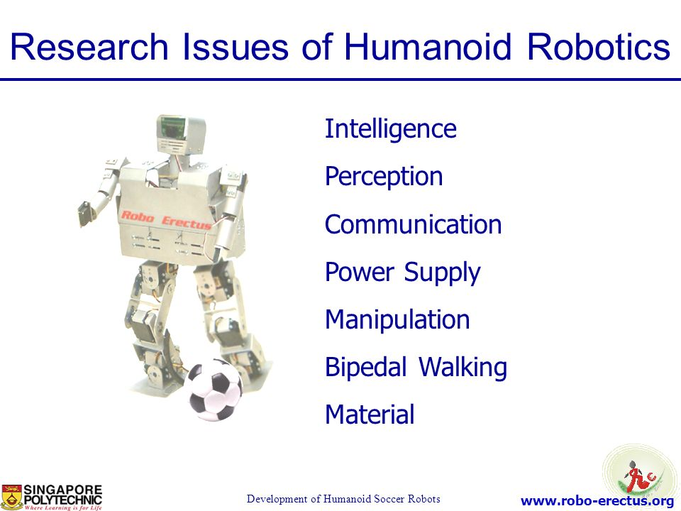 Research Issues of Humanoid Robotics