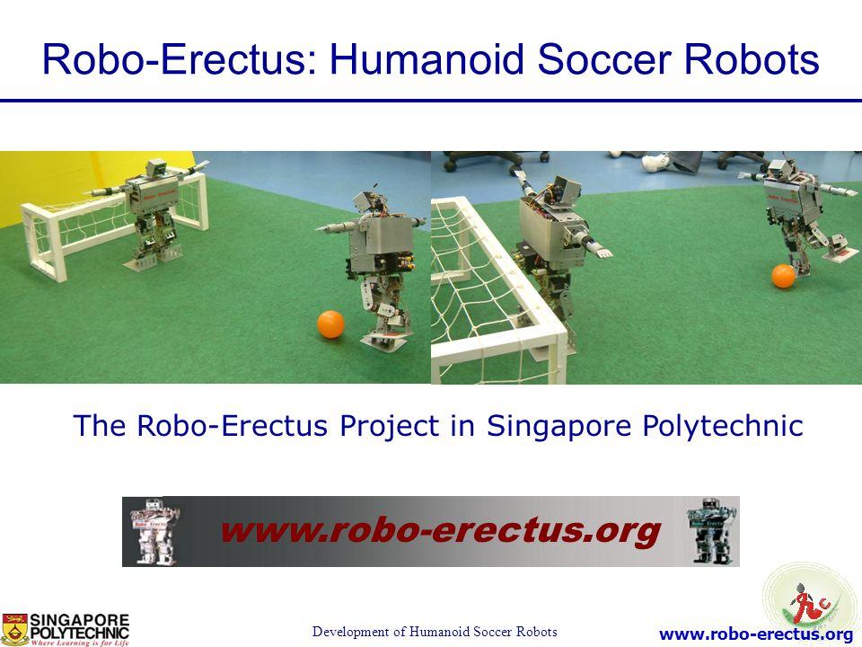 Robo-Erectus: Humanoid Soccer Robots