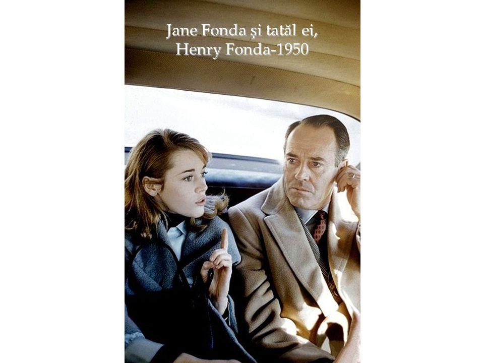 Jane Fonda și tatăl ei, Henry Fonda-1950