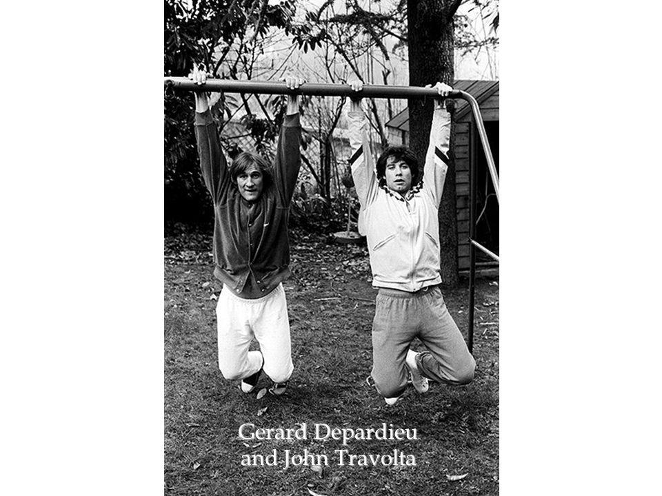 Gerard Depardieu and John Travolta