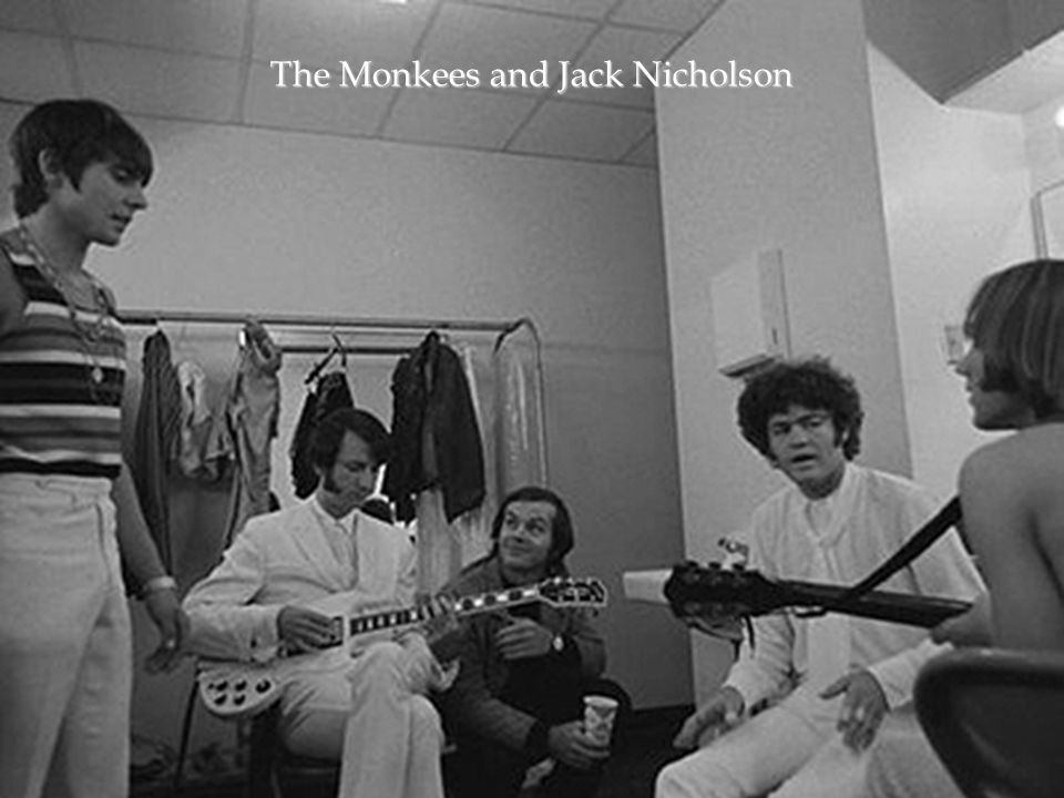The Monkees and Jack Nicholson