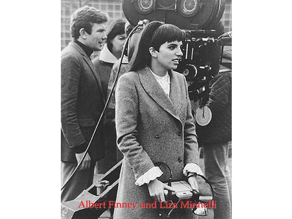 Albert Finney and Liza Minnelli