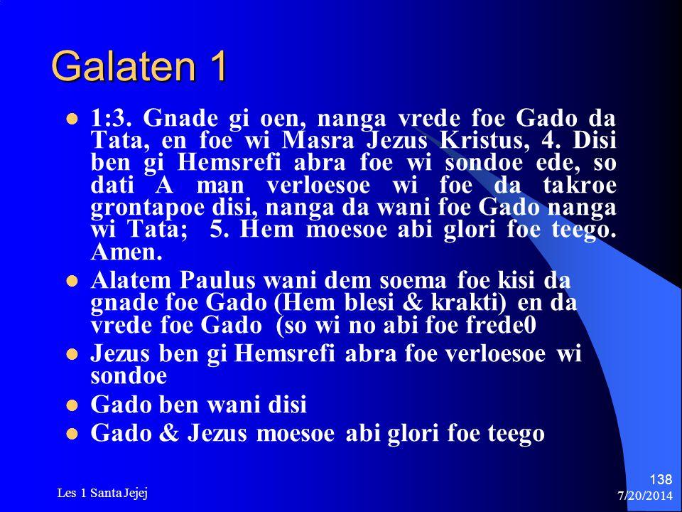Galaten 1