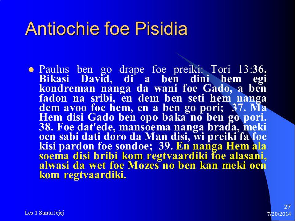 Antiochie foe Pisidia