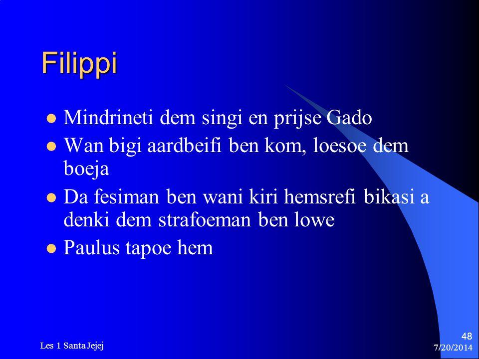 Filippi Mindrineti dem singi en prijse Gado