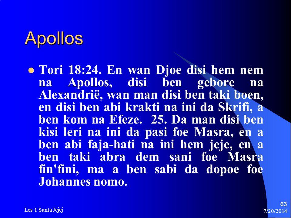 Apollos