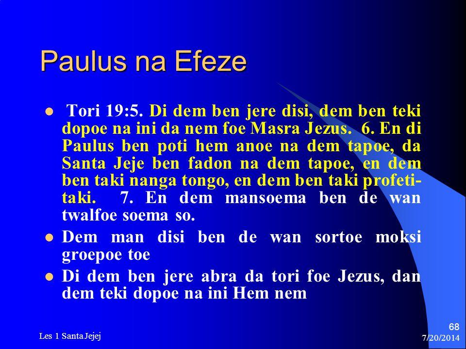 Paulus na Efeze
