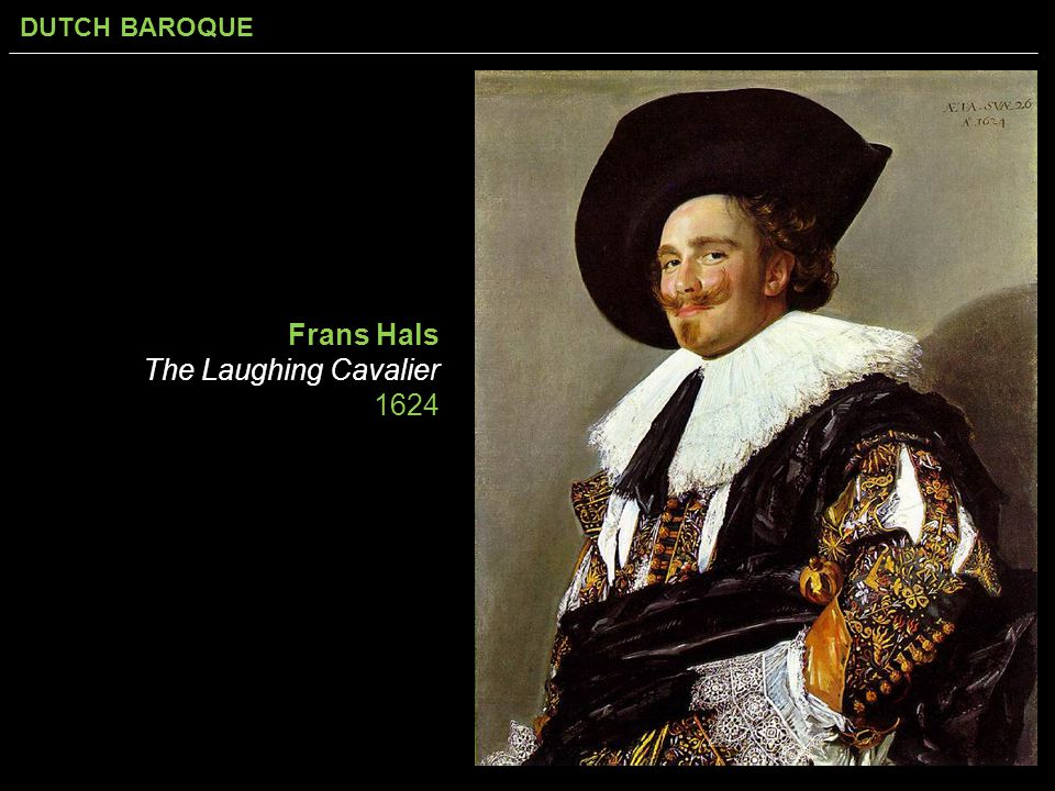 Frans Hals The Laughing Cavalier 1624