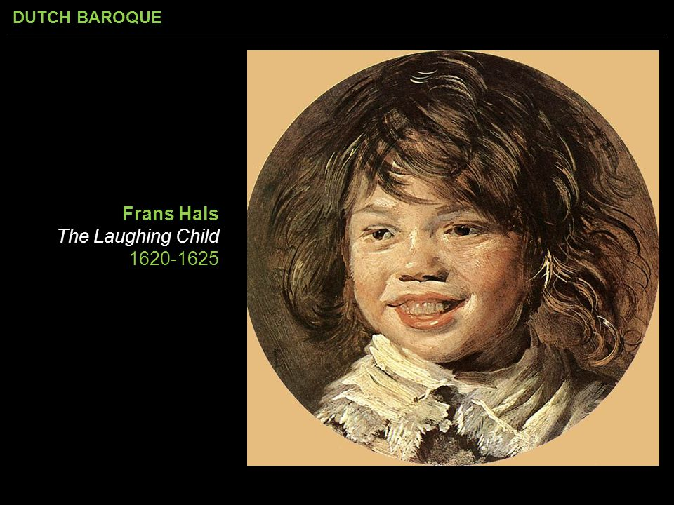 Frans Hals The Laughing Child 1620-1625