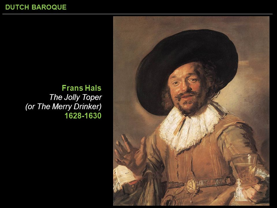 Frans Hals The Jolly Toper (or The Merry Drinker) 1628-1630