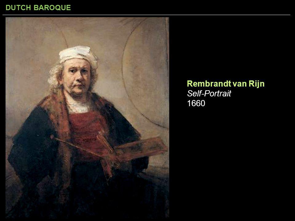 Rembrandt van Rijn Self-Portrait 1660