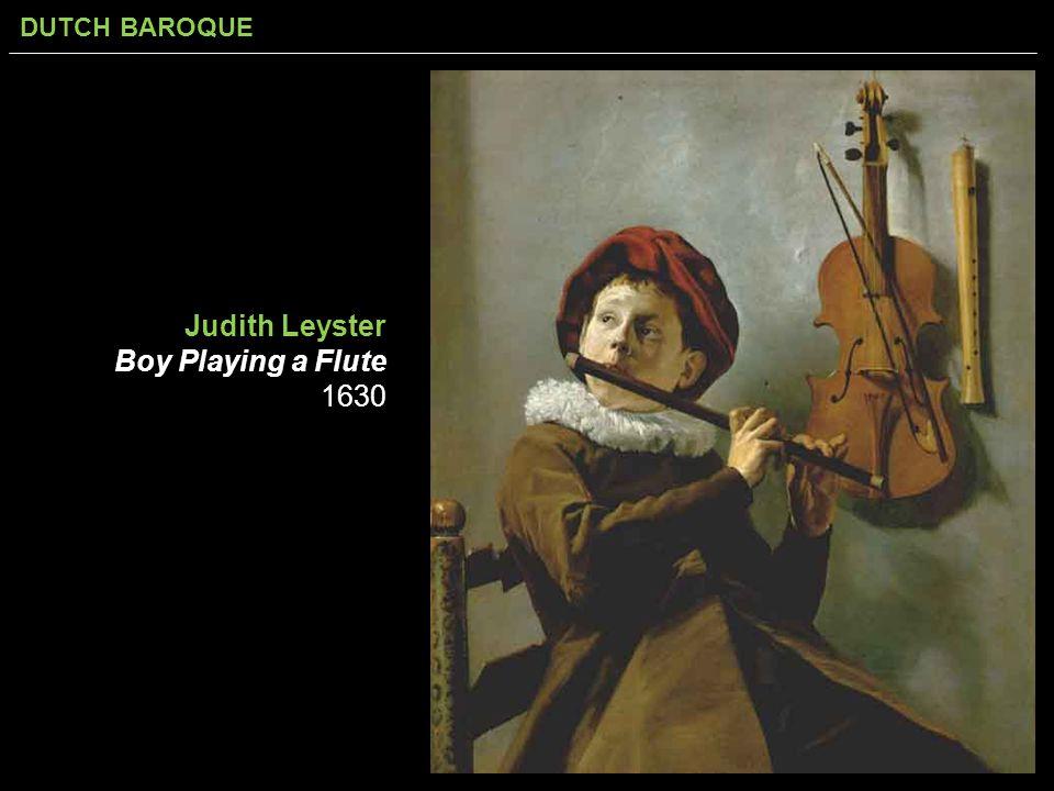 Judith Leyster Boy Playing a Flute 1630