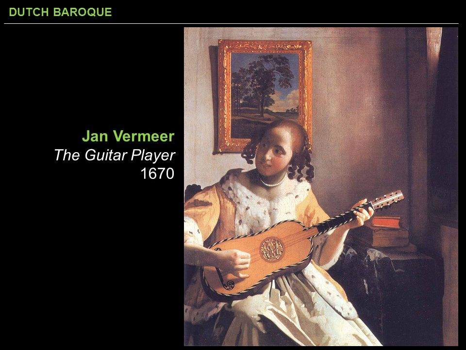 Jan Vermeer The Guitar Player 1670