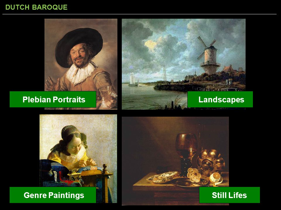 Plebian Portraits Landscapes Genre Paintings Still Lifes