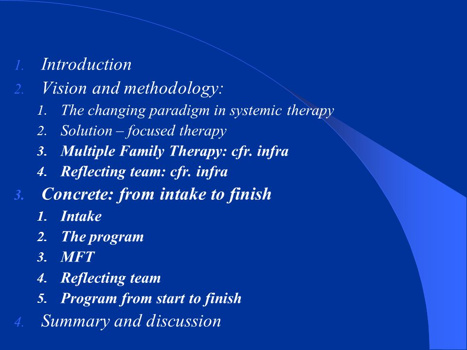 Vision and methodology: