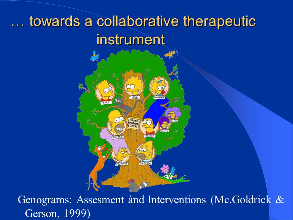 … towards a collaborative therapeutic instrument