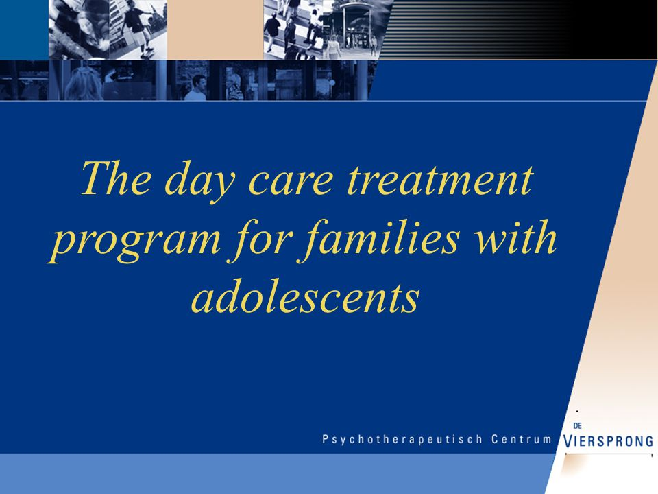 The day care treatment program for families with adolescents
