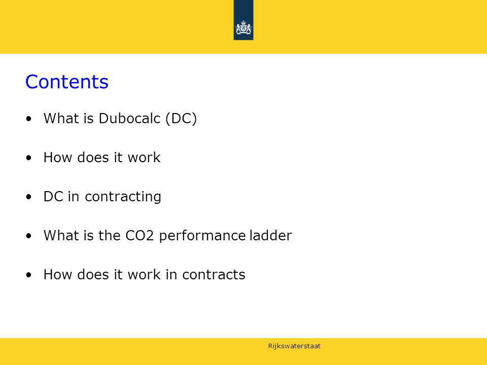 Contents What is Dubocalc (DC) How does it work DC in contracting