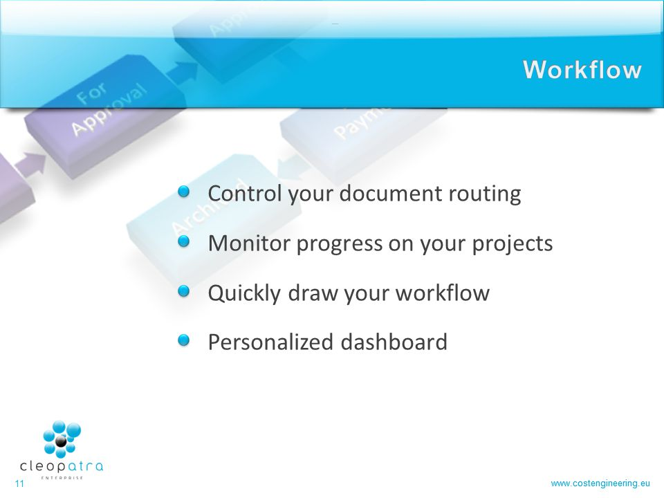 Workflow Control your document routing