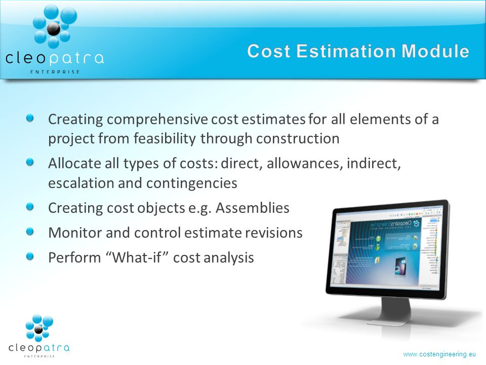 Cost Estimation Module