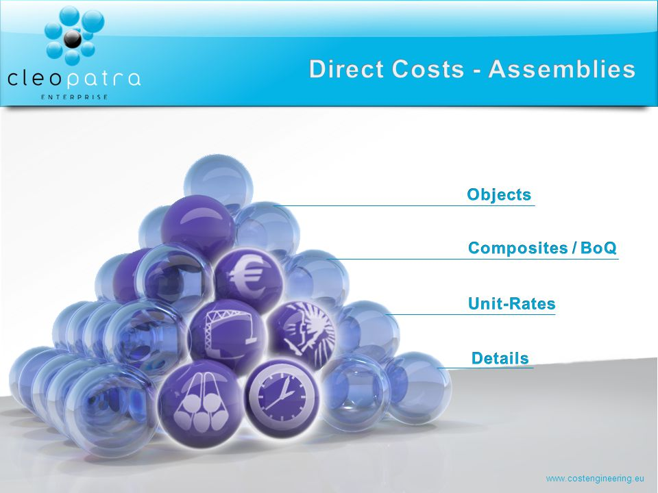 Direct Costs - Assemblies