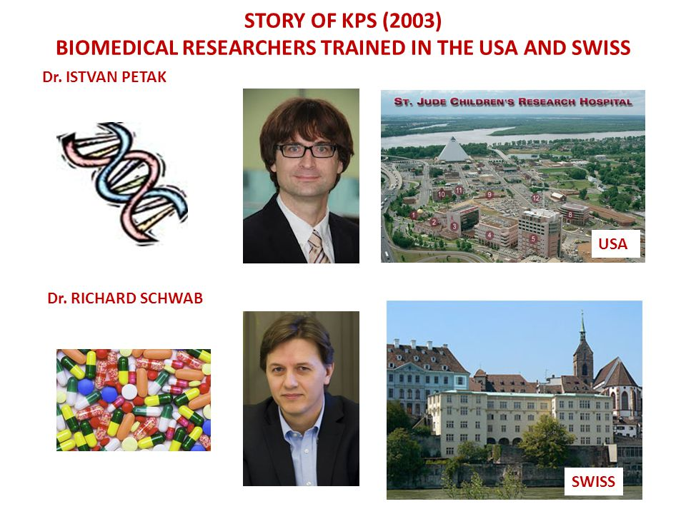 Biomedical RESEARCHERS trained in the usa and swiss