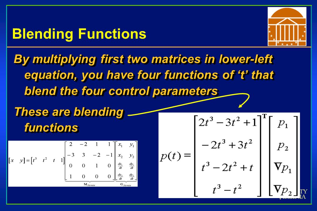 Blending Functions