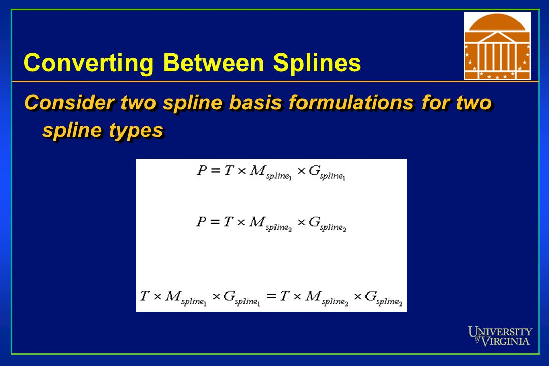 Converting Between Splines