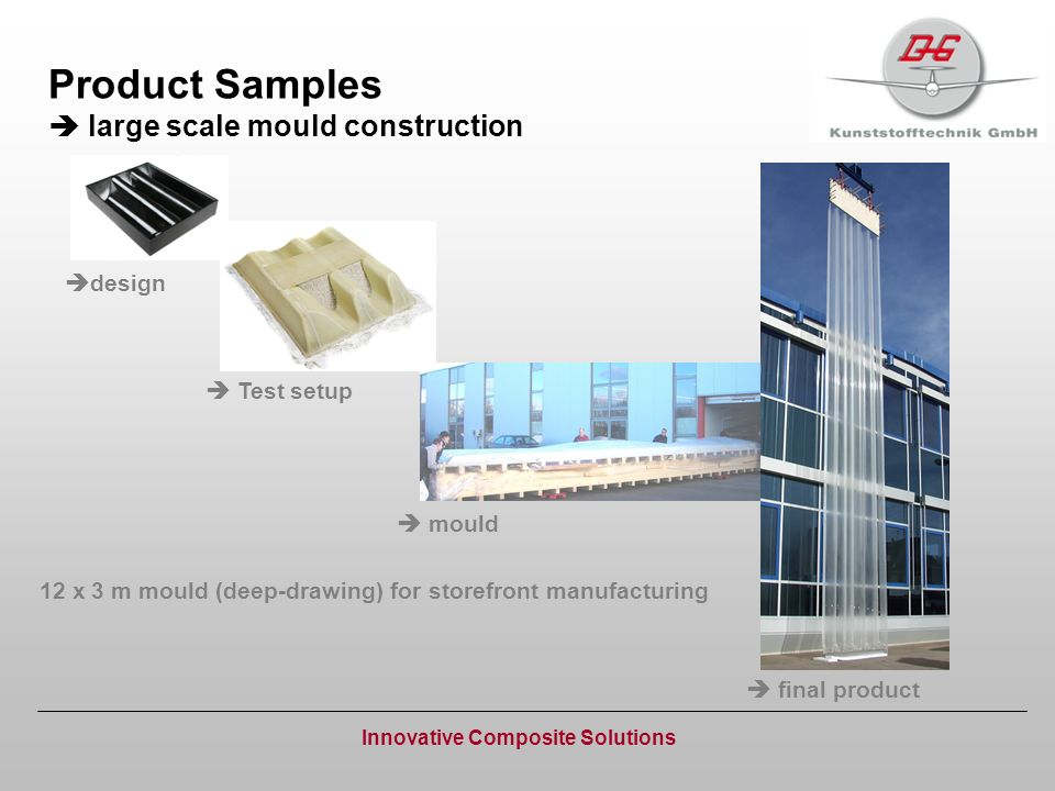 Product Samples  large scale mould construction
