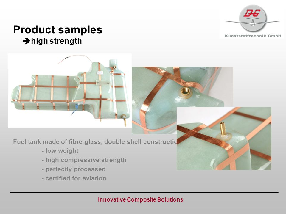 Product samples high strength