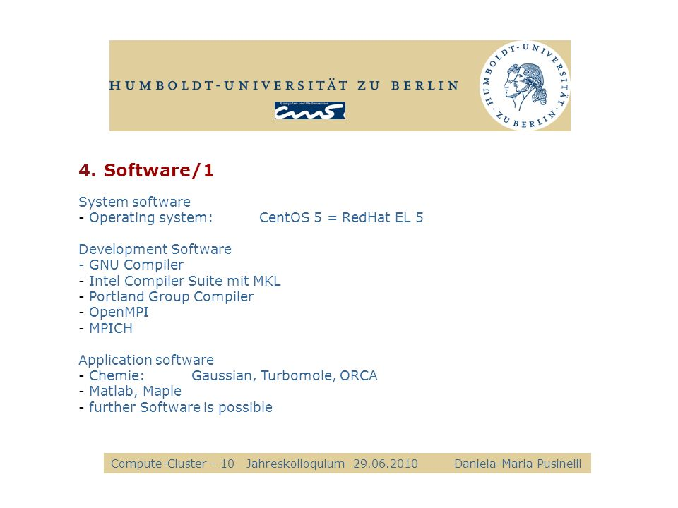 Software/1 alle Kkk System software