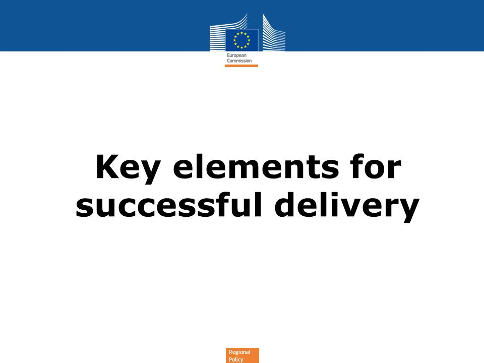 Key elements for successful delivery
