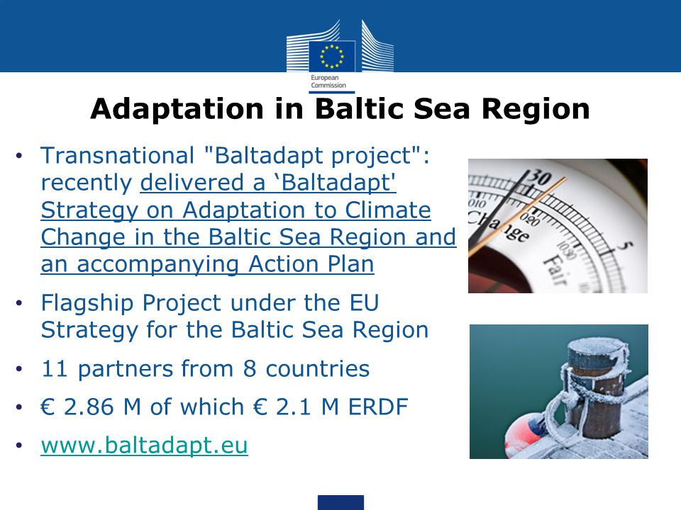 Adaptation in Baltic Sea Region