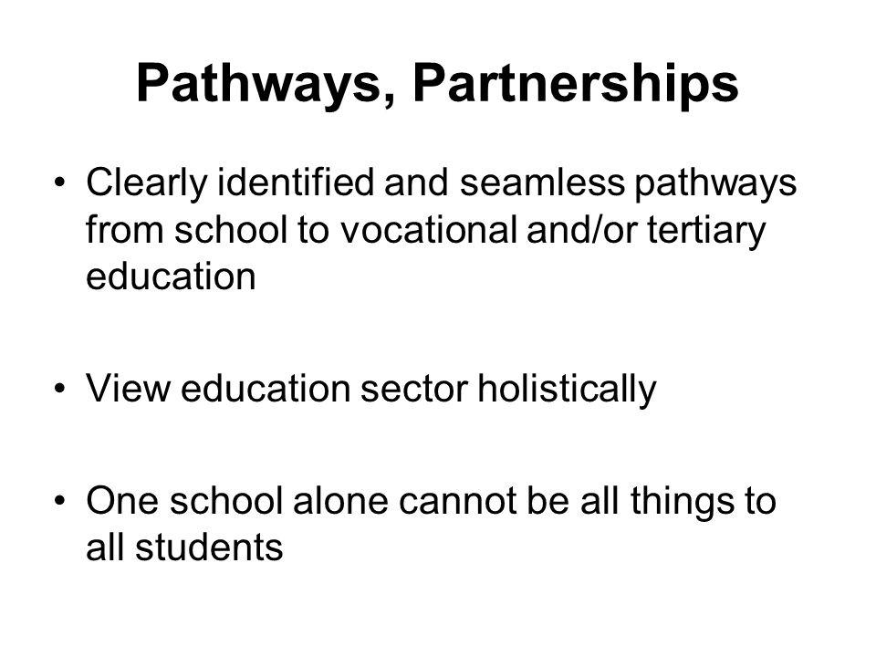 Pathways, Partnerships
