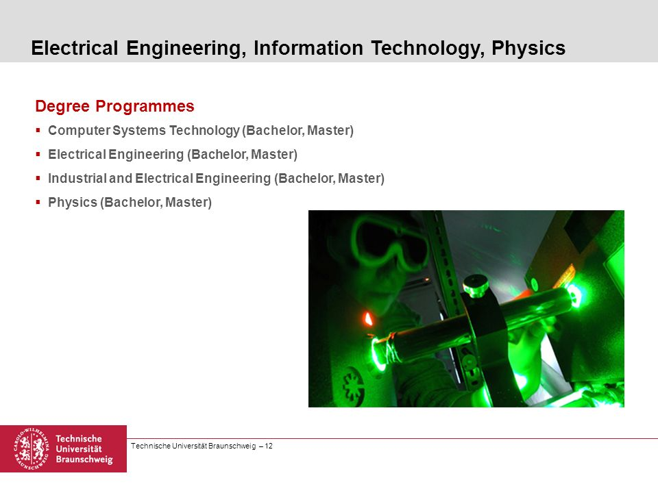 Electrical Engineering, Information Technology, Physics