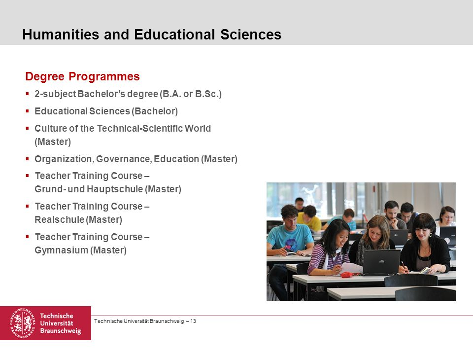 Humanities and Educational Sciences