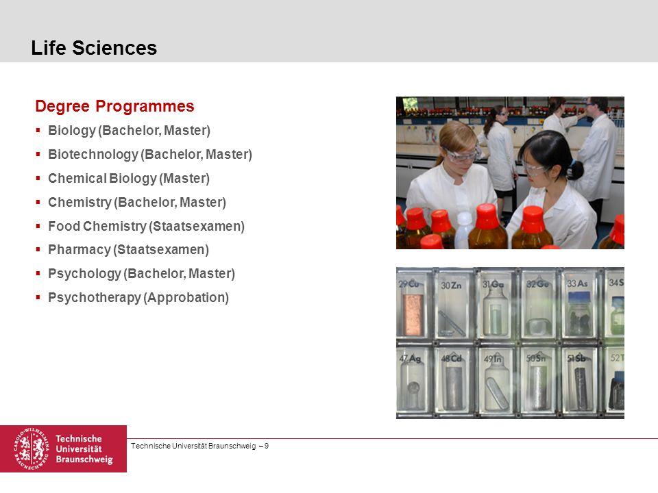 Life Sciences Degree Programmes Biology (Bachelor, Master)