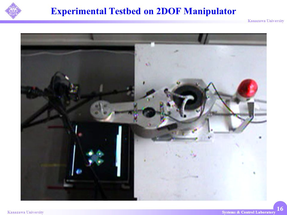 Experimental Testbed on 2DOF Manipulator