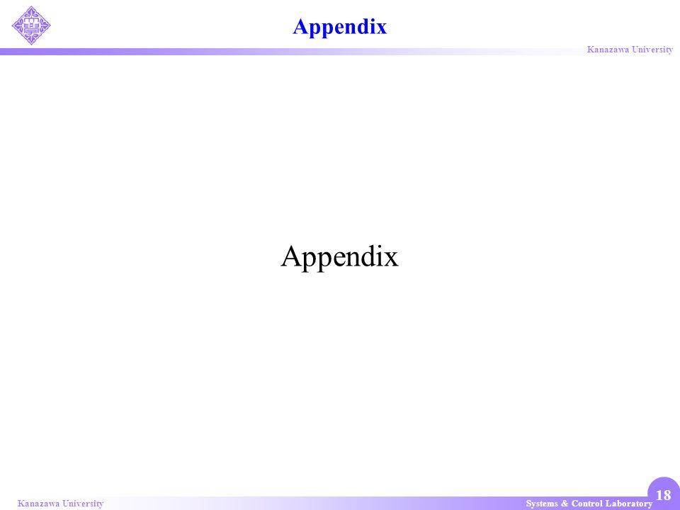 Appendix Appendix