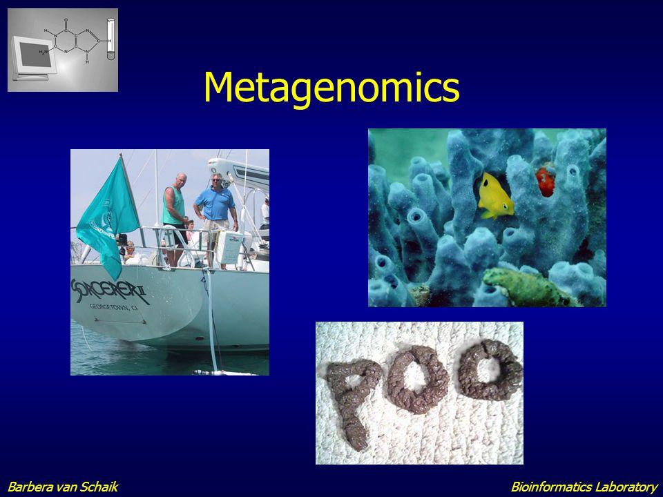 Metagenomics Barbera van Schaik Bioinformatics Laboratory