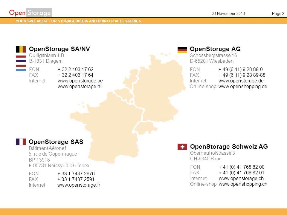 OpenStorage Schweiz AG
