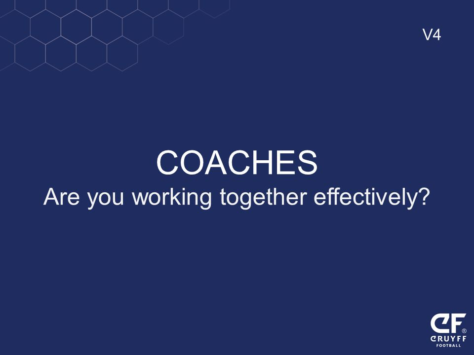 Are you working together effectively