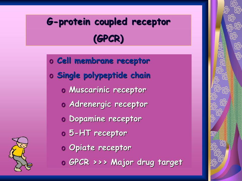 G-protein coupled receptor