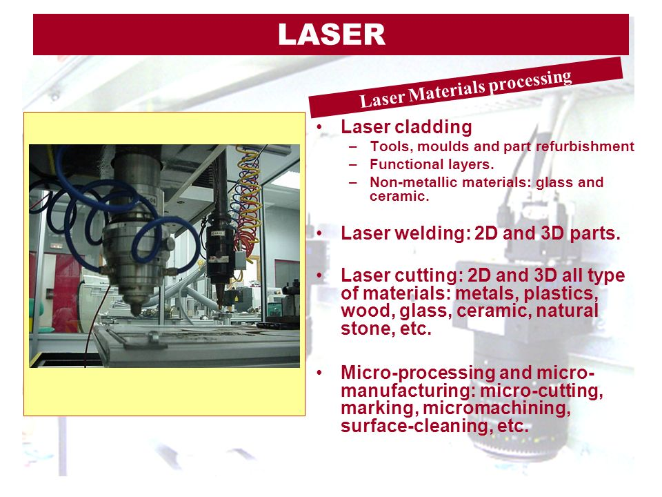 Laser Materials processing