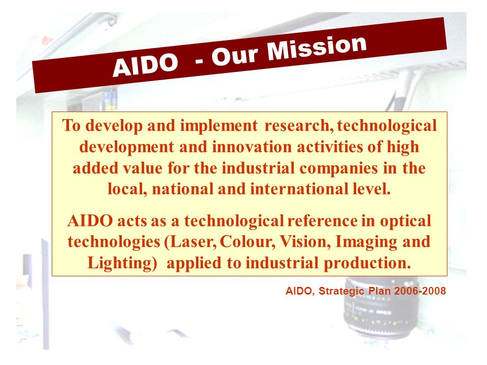 AIDO - Our Mission