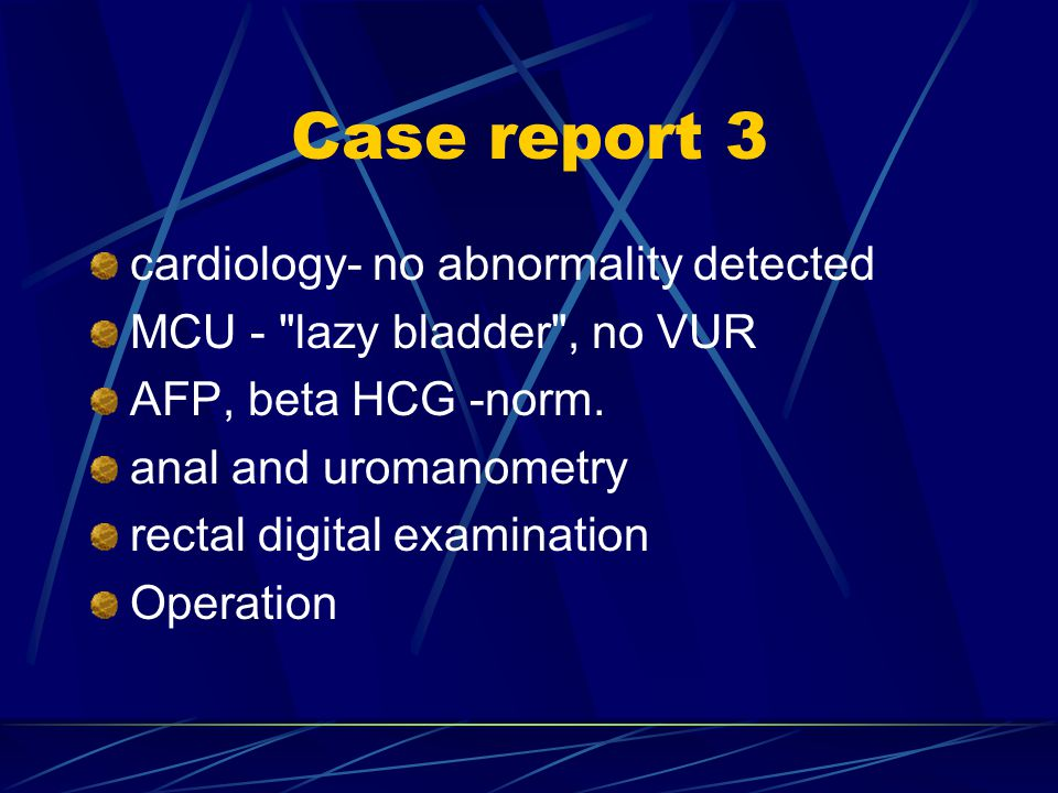 Case report 3 cardiology- no abnormality detected