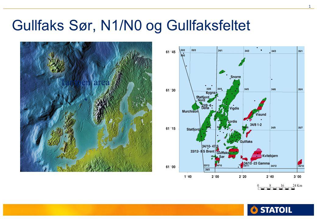 Gullfaks Sør, N1/N0 og Gullfaksfeltet